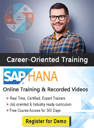 SAP HANA adv