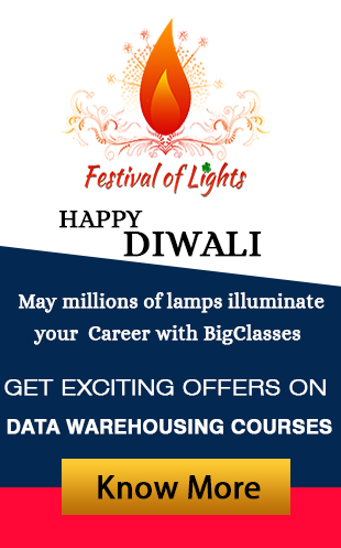 Diwali offers on Data warehousing