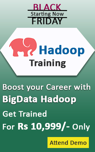 Black Friday Offer on Hadoop Training