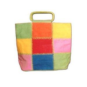 Multi Color Fancy Jute Bag
