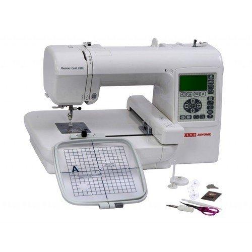 Memory Craft 200E Digitizer Jr Domestic Sewing Machine