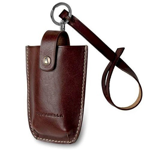 Brown Leather Cell Phone Holder