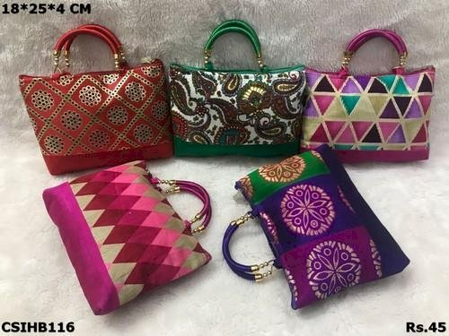 Printed Pooja Handbag