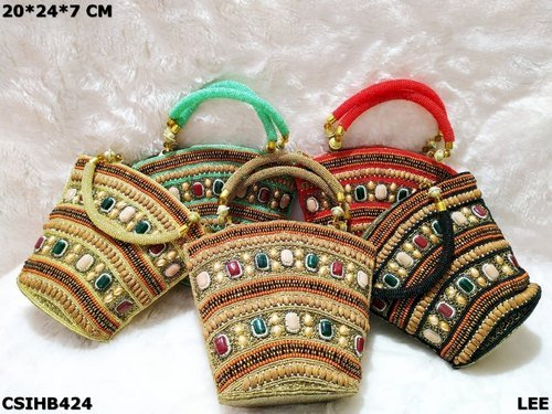 Beaded Handwork Handbag