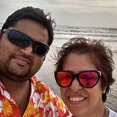 Nidhi And Rohit Joshi