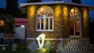 Galabagh restaurant at Bonjour Paradise Resort Udaipur 11