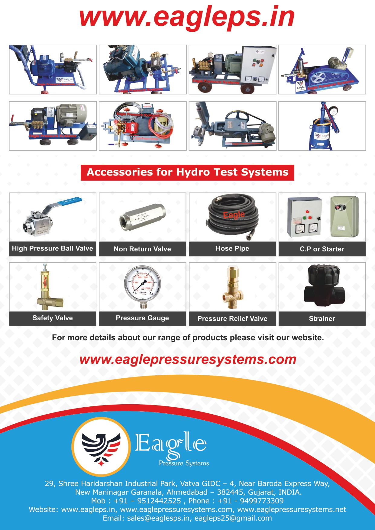 Eagle Pressure Systems in Ahmedabad, India