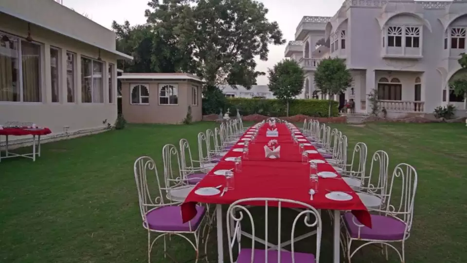 conference facility at Bonjour Paradise Resort Udaipur