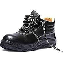 Safari Pro TYSN_9 Rocksport Tyson Micro Leather Style Safety Shoes, Black, 9 Inch