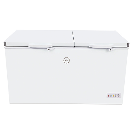 Godrej Hard Top 340 Ltr range 2 in 1 Combo plus convertible chest freezer - GCHFC340R2DXC