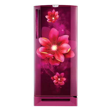 Godrej Edge Pro 190 Ltr 3 Star Direct Cool Single Door Refrigerator - RD EDGEPRO 205C 33 TDF RZ WN