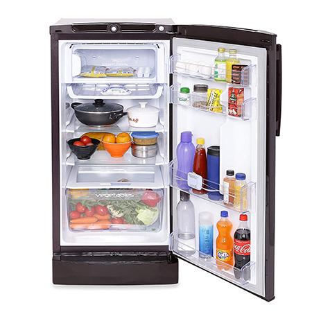 Godrej Edge Pro 190 Ltr 5 Star Direct Cool Single Door Refrigerator - RD EDGEPRO 205E 53 TAI AQ WN
