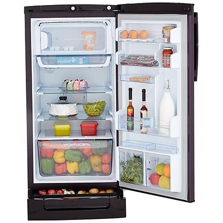 Godrej Edge Pro 210 Ltr 4 Star Direct Cool Single Door Refrigerator - RD EDGEPRO 225D 43 TDI RY WN