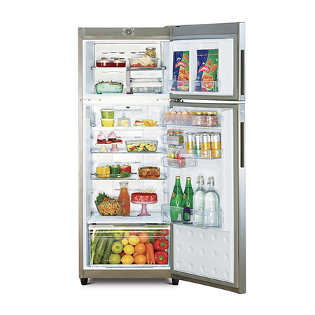 Godrej Eon Valor 261 Ltr 3 Star Frost Free Double Door Refrigerator - RT EONVALOR 276C 35 RCI CS BL