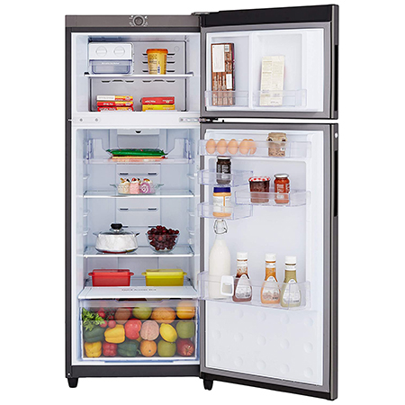 Godrej Eon Vibe 261 Ltr 2 Star Frost Free Double Door Refrigerator - RT EONVIBE 276B 25 HCF SK PR