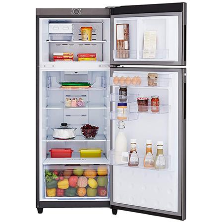 Godrej Eon Vibe 290 Ltr 2 Star Frost Free Double Door Refrigerator - RT EONVIBE 306B 25 HCF SK WN