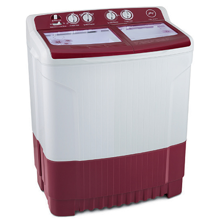 Godrej Edge 7.5 Kg Semi Automatic Washing Machine - WS EDGE 7.5 WnRd TB3 M
