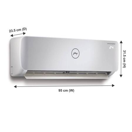 Godrej 1.5 Tr 5-Star Inverter Split AC - AC 1.5T GIC 18NGC5-WUA Split