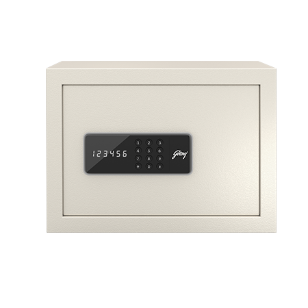 Godrej NX Pro Digital (15L) Ivory Home Locker