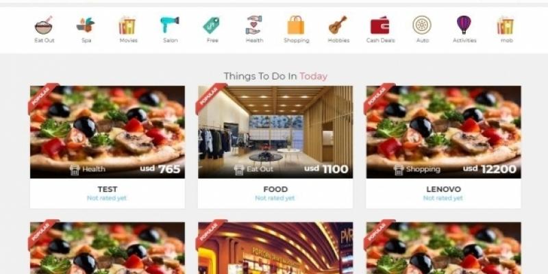 Ebates Clone Script Online Shopping Deals Script Wowcher Website Clone Open Source Daily Deals P Bigstartups