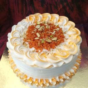 Gajar ka Halwa Cake