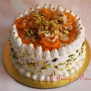 Rabadi Jalebi Cake