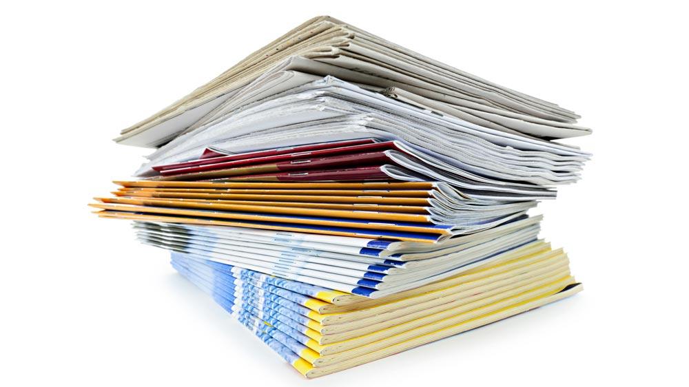 Book, magazine & newspaper publishing