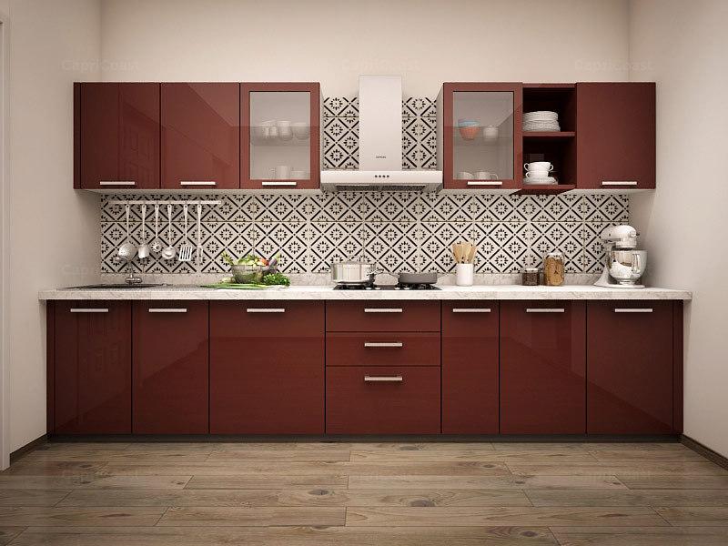Decent Modular Kitchen_image0