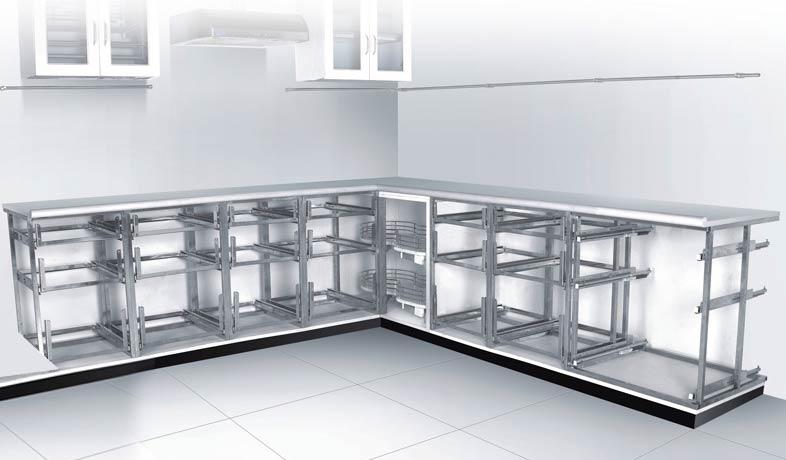 Decent Modular Kitchen_image1