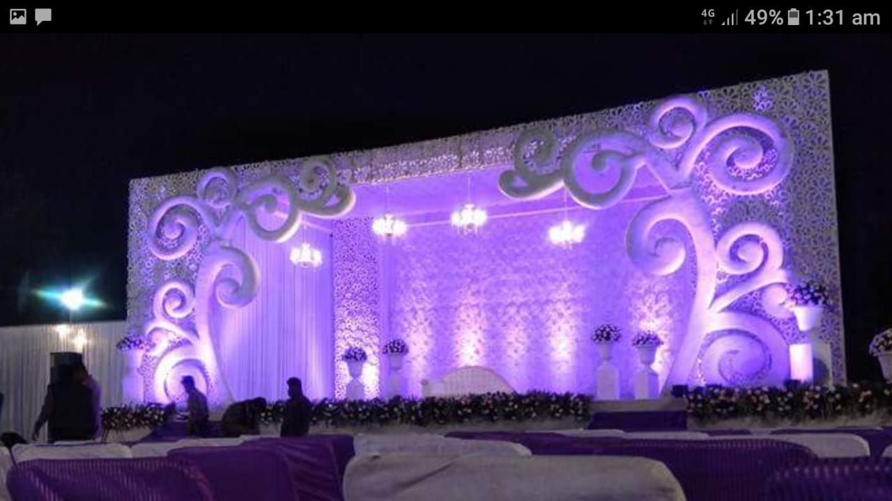 Shri Bhole Mandap Lighting Decoration