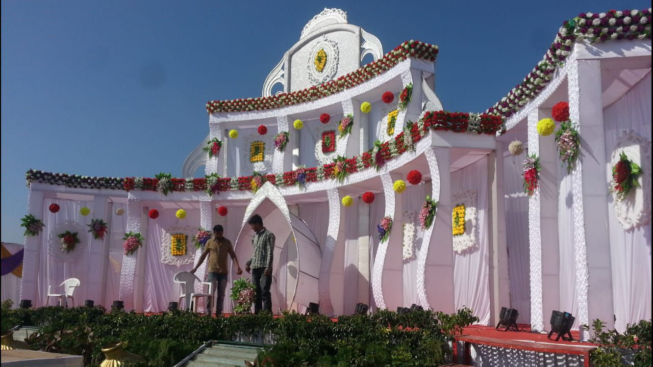 Shri Bhole Mandap Lighting Decoration