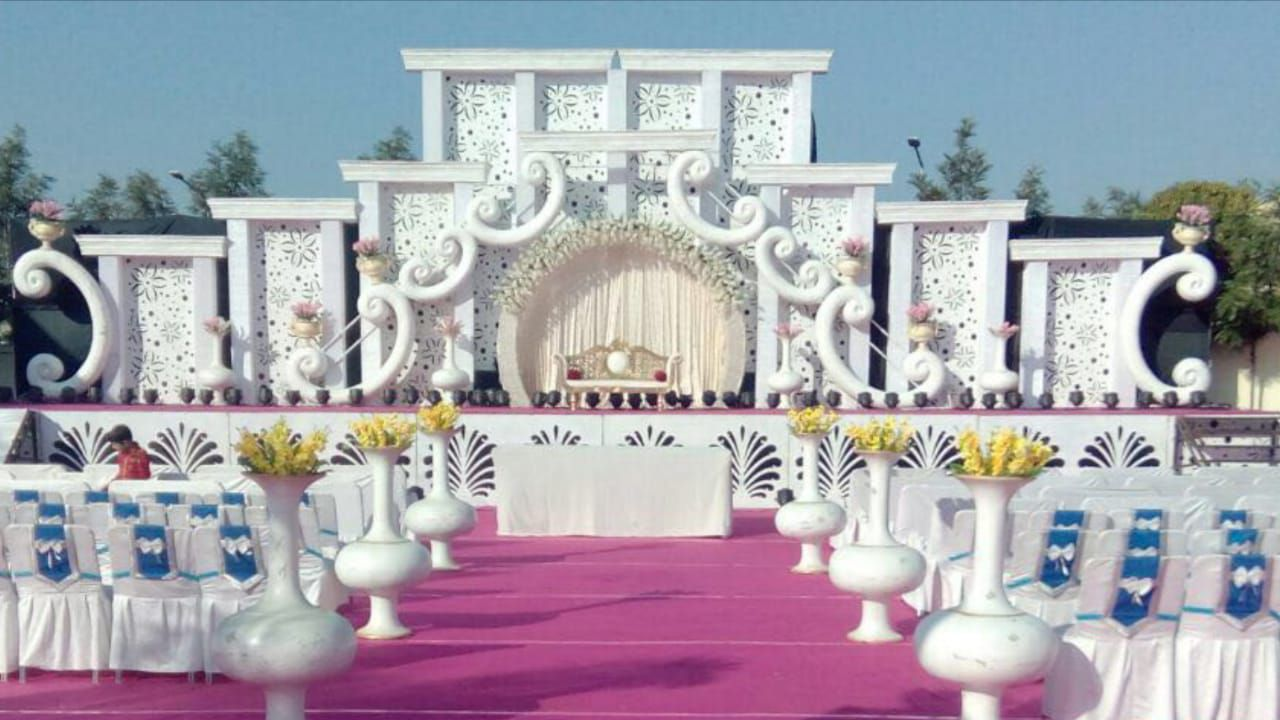 Shri Bhole Mandap Lighting Decoration_image1