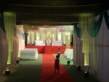 F K Mandap Decoration