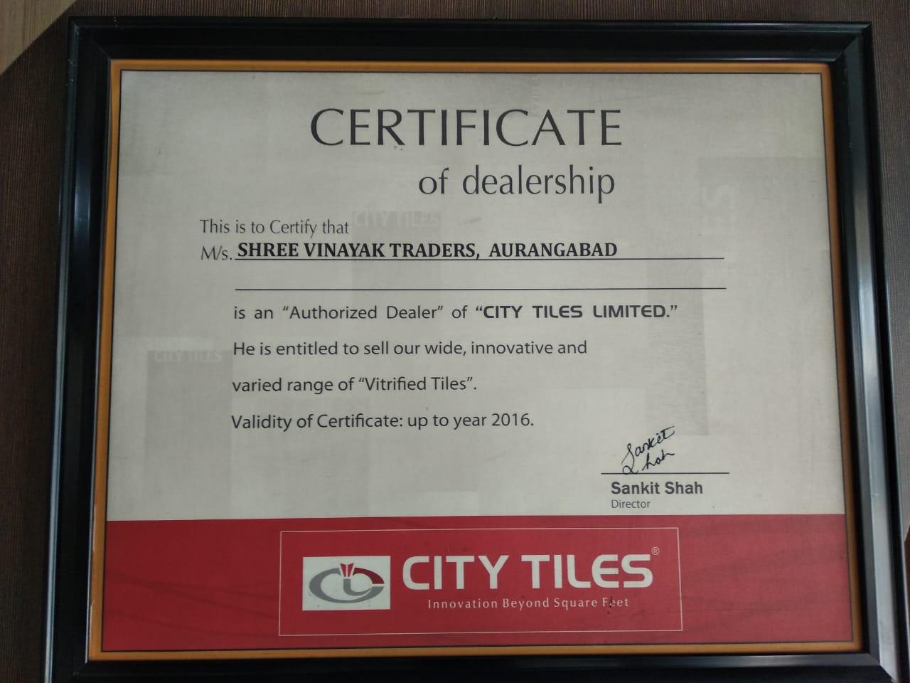SHRI VINAYAK TRADERS