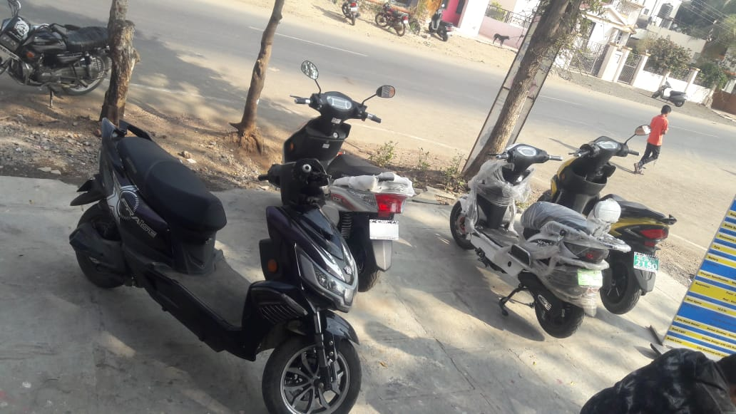 Electrical Bike and Balaji Motors