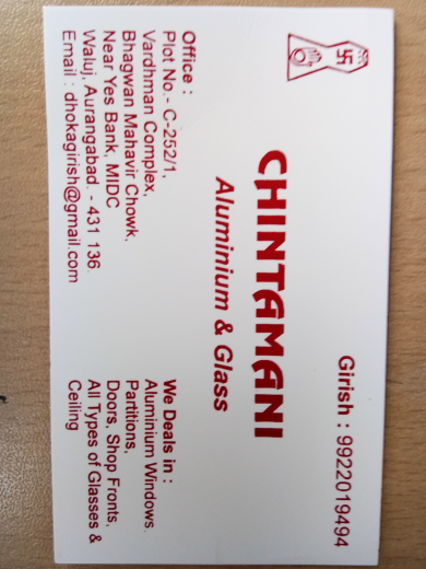 Chintamani Aluminium & Glass_image1