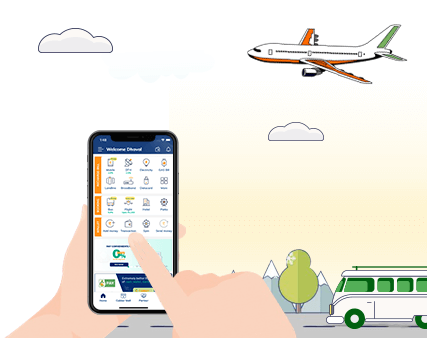 online bus and flight booking on cubber