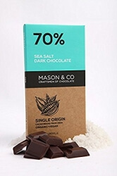 Seasalt Dark Chocolate 70 Gms-Mason