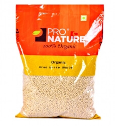 Urad White Whole 500 Gms-Pro Nature