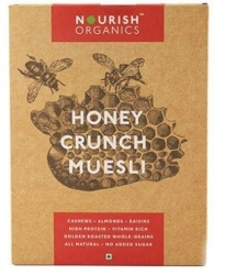Honey Crunch Muesli 300 Gms-Nourish