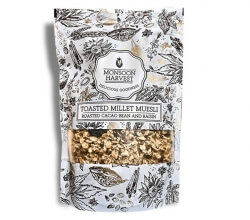 Roasted Cacao Bean &  Raisin 250 Gms-Monsoon Harvest