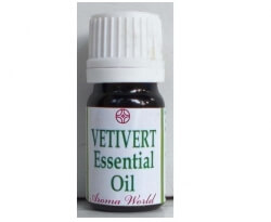 Vetiver Essential Oil 10 Ml-Aroma World