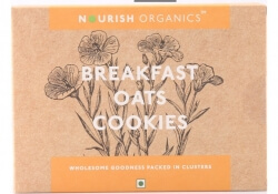 Break Fast Oats Cookies 150 Gms-Nourish