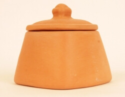 Storage Jar Square 300 Ml-The Indus Valley