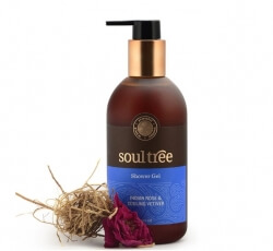 Indian Rose & Cooling Vetiver Shower Gel 300 Ml-Soul Tree
