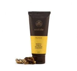 Walnut & Turmeric Face Scrub 100 Gms-Soul Tree