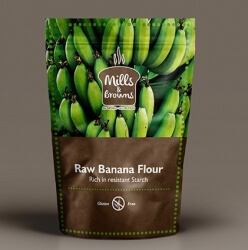 Raw Banana Flour 250 Gms-Mills & Browns