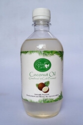 Coconut Oil 500 Ml- The Good Earth