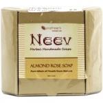 Almond Rose Soap 100 Gms-Neev Herbal
