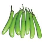 Brinjal Long Green - 250 Gms